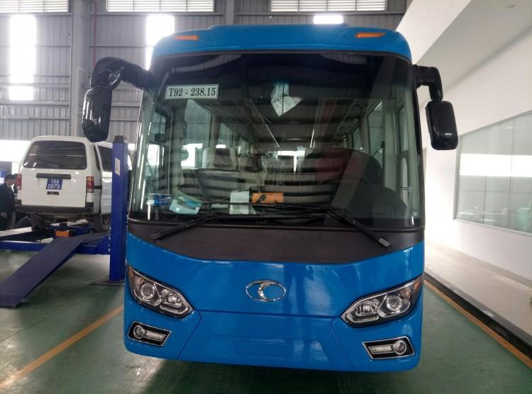 Xe khách 34 chỗ Thaco TB85 tại Hải Phòng