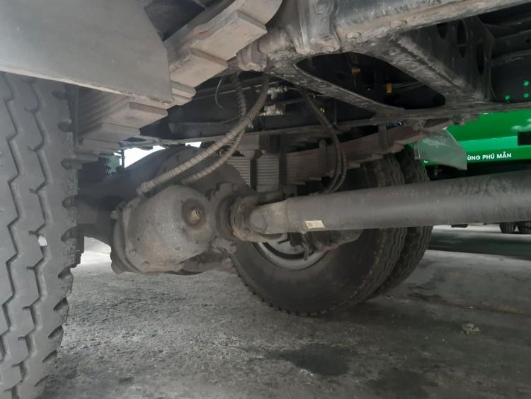 Kết cấu xe tải dongfeng 8t3 hoàng huy
